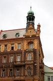 Old house in Prague`s street Stock Image