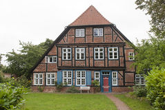 Old House in Ratzeburg Royalty Free Stock Image