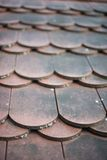 Old house red roof tiles Royalty Free Stock Photography