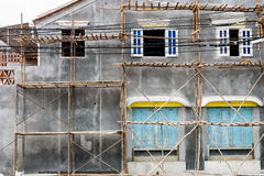 Old House Renovation royalty free stock photos