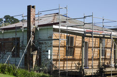 Old house repair Royalty Free Stock Photo