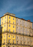 Old house on riverbank of Duoro in Porto Royalty Free Stock Photos
