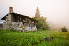 Old house in Rize Royalty Free Stock Photo