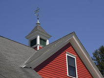 Old house roof detail. From a New England colonial home Stock Photography