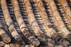 Old house roof tile Royalty Free Stock Photography