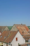 Old house rooftops Royalty Free Stock Photography