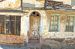 Old house in ruins Royalty Free Stock Images