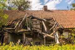 Old house ruins Royalty Free Stock Photo
