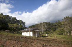 Old  house in rural areas in Cuba.  royalty free stock photos