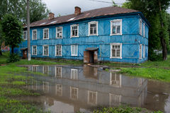 Old house in Russia Stock Photography