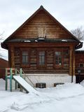 Old house. Old Russian house Stock Photo
