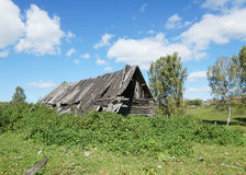 Old house in a Russian village Royalty Free Stock Photography