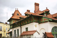 Old house in Rzeszow. Poland Stock Photo
