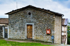 Old house at the San Francesco monastery, Fiesole Royalty Free Stock Images