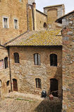 Old house in san gimignano, italy Stock Photos