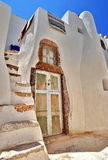 Old house in Santorini. Old house in Emporio Village, Santorini Royalty Free Stock Photography