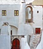 Old house in Santorini. Greece Stock Image