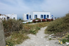 Old house on Santorini Island. Royalty Free Stock Photography