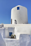 Old house in Santorini Stock Images
