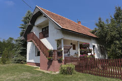 Old house in Serbia Stock Photography