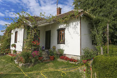 Old house in Serbia Stock Image