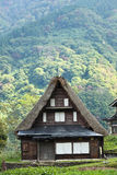 An old house in Shirakawa-go, Japan Stock Photography