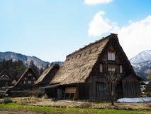 Old house at shirakawago Royalty Free Stock Photos