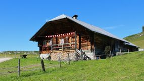 Old house in the Simmental Royalty Free Stock Image