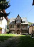 Old House from Sinaia resort in Romania Stock Photos
