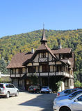 Old House from Sinaia resort in Romania Stock Photography