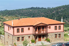 Old house Sithonia Greece Royalty Free Stock Photos