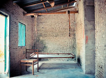Old house sitting area royalty free stock image