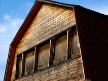 Old house. Sky. Royalty Free Stock Photos
