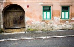 Old house, Slovakia Stock Photo