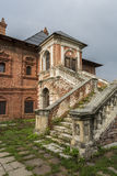 Old house with stairs. Royalty Free Stock Photo