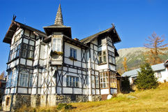 Old house in Stary Smokoviec Stock Images