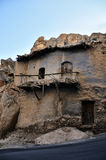 Old House on Stone, at Maaloula Stock Photography