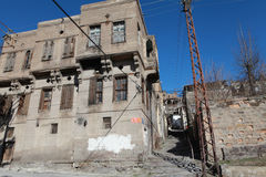 The Old House in Talas, Kayseri. Royalty Free Stock Image
