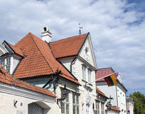 Old house in Tallin Royalty Free Stock Images