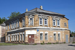 Old house in Tambov Royalty Free Stock Images