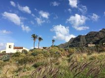Old house in Tenerife Royalty Free Stock Image