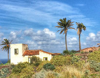Old house in Tenerife Royalty Free Stock Photo