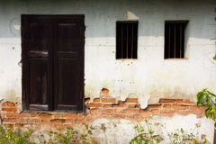 Old house texture. Royalty Free Stock Image