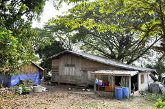 Old House Thailand Tree Nature Outdoor Royalty Free Stock Photo