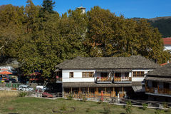 Old House in Town of Metsovo, Epirus Royalty Free Stock Images
