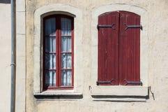 View of Pont-Saint-Esprit. Old house in town Pont-Saint-Esprit, France Stock Image