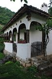 Traditional Serbian Old House. Traditional countryside familiy house from eastern Serbia royalty free stock photography