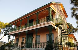 Old House in Trapon Springs Stock Image