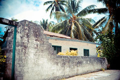 Old house in tropic Royalty Free Stock Photography