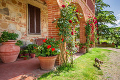 Old house in Tuscany Royalty Free Stock Photography